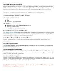 Resume Templates For Freshers Saneme