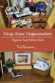 kitchen office organization. Plain Organization Kitchen Desk Organization  Miss Information For Real Housemoms In Office Z