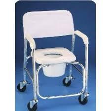 silla de ruedas higienica de baño y ducha aluminio d336
