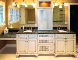rustic white bathroom vanities. Modren Rustic Bathroom Marvelous Rustic White Vanities 31 Awesome Distressed Wall  Cabinet Cabinets Inspiring Double Granite Tops Astonishing Inside