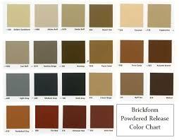 Ready Seal Color Chart Decorative Concrete