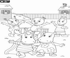 Small Picture The Backyardigans coloring pages printable games
