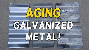 age galvanized metal in minutes