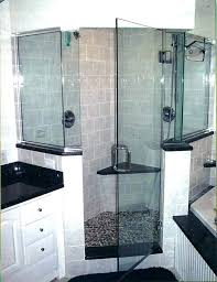 bathroom shower glass walls pony wall shower gallery of best half wall showers images on bathroom bathroom shower glass walls