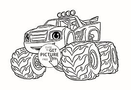 Free Printable Coloring Pages Monster Trucks Great Printable Bigfoot
