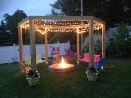 Fire Pit Swing We Love Our Fire Pit Swing Gardening Pinterest Fire Pit