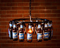 appealing diy bottle chandelier 20 bright ideas diy wine beer bottle chandeliers bigdiyideas