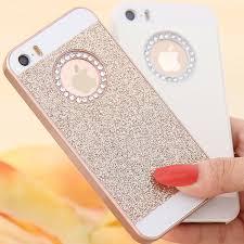 iphone 5s gold case for girls. kisscase glitter bling diamond back cover for apple iphone 5 5s se 7 plus case luxury iphone 5s gold girls e