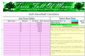 debt snowball calculator free debt snowball spreadsheet excel snowball debt calculator excel debt