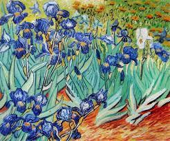 vincent van gogh iris paintings by size smartphone medium