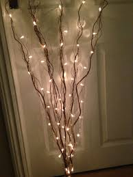 Light Up Twigs Fancy 2 Twig Branch Lights.