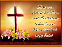 happy easter to family in heaven es