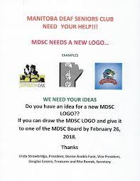 Deaf Centre Manitoba Inc Manitoba Deaf Seniors Club Mdsc