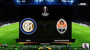 PES 2020   Inter vs Shakhtar Donetsk   UEFA Europa League UEL
