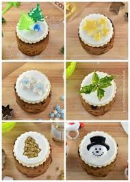 How To Decorate Mini Christmas Cakes 6 Fun And Easy Designs