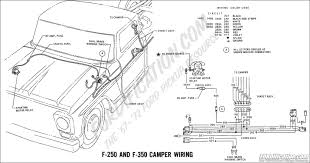 ford truck technical drawings and schematics section h wiring 1969 f 250 f 350 camper wiring