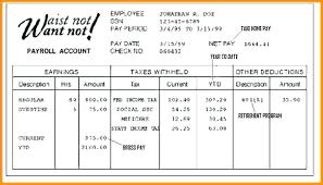 Simple Paycheck Calculator Fake Check Stub Template Free Payroll Calculator Paycheck