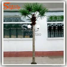 outdoor lighting palm tree artificial lighted palm tree solar lighted palm trees 1