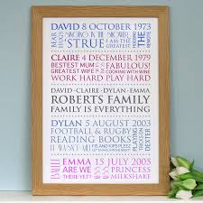 What Are Interests Personalised Family Interests Print By Cherry Pete