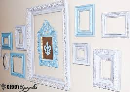 white antique picture frames. Distressed-vintage-frames-giddyupcycled-14 White Antique Picture Frames