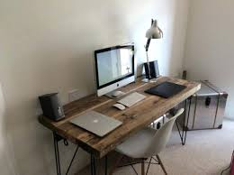 industrial style office desk. Industrial Style Office Decor Best Wood Desk Ideas On Regarding Modern House . M