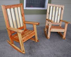 front porch rocking chairs wood