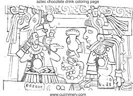 Small Picture Aztec Coloring Pages jacbme