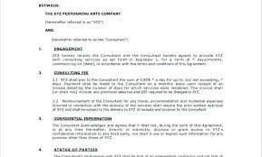 New Simple Consulting Agreement Template Free Software Synonyme ...