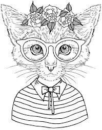 page from really cool colouring book 2 cool cats