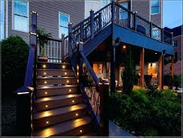 deck stair lighting ideas. Deck Stair Lighting Ideas Step Lights Illuminates The Awesomely With Outdoor .