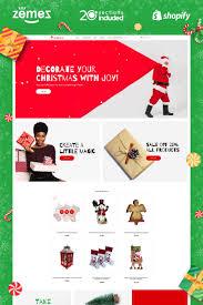 Christmas Program Theme Christmas Gifts Store Shopify Theme