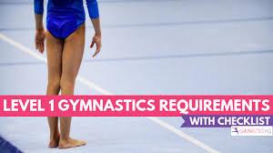 Level 1 Gymnastics Requirements