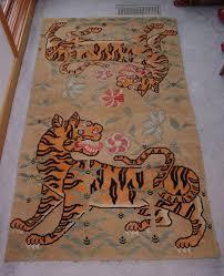 tibetan tiger rug style