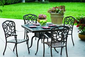 Dining Rooms Amazing Cast Iron Patio Set Home Styles Biscayne