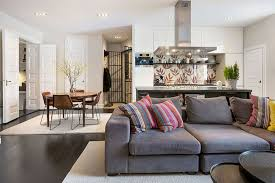 Even Though This Is An Open Plan Living U0026 Dining Area Itu0027s Contemporary Open Plan Kitchen Living Room