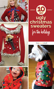 30 Best Ugly Christmas Sweater Party Images On Pinterest  Ugliest Ugly Christmas Sweater Craft Ideas