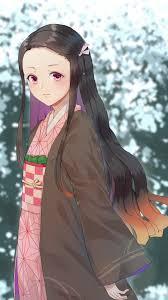 Download 1080x1920 Kamado Nezuko Kimetsu No Yaiba Long