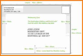 Letter Envelope Address Format Canada Copy Postal History How To