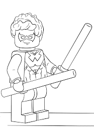 Lego batman coloring pages 41. Lego Superman Coloring Page Free Printable Coloring Pages For Kids