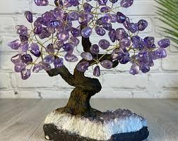 Amethyst tree | Etsy