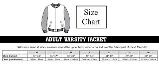 Varsity Jacket Size Chart Adult 5sos Luke Hemmings 2 Sided Varsity Sweatshirt Jacket