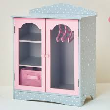attrayant badger basket pink gingham princess mirrored doll armoire with three baskets hayneedle