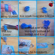 bookmark tassel tutorial