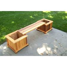 bench planter cedar planter bench for planters diy bench with planter boxes bench planter diy