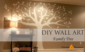 25 layout family tree diy wall art