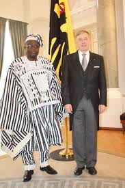 ghana ambador to germany presents letters of accreditation
