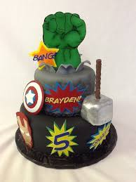 Avengers Birthday Cake Toppers Wedding Academy Creative Really