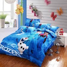 disney frozen bedding set blue