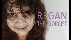 regan the exorcist makeup tutorial