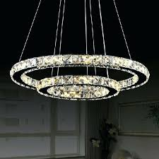 led ring chandelier awesome circle chandelier light hot modern two circles led crystal chandelier light